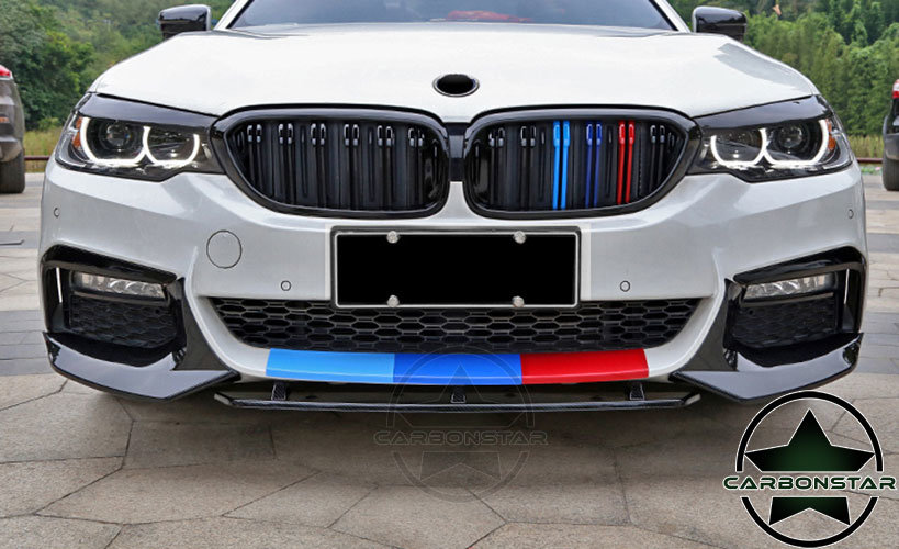 Cstar ABS Splitter Flaps Frontlippe V5 Hochglanz Schwarz...
