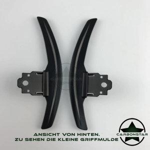 Cstar Schaltwippen Wippen Paddles Aluminium Alu Eloxiert Schwarz passend für BMW F32 F33 F36