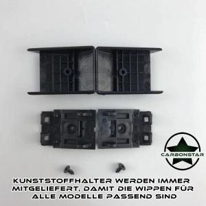 Cstar Schaltwippen Wippen Paddles Aluminium Alu Eloxiert Schwarz passend für BMW F80 M3
