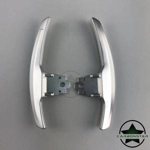 Cstar Schaltwippen Wippen Paddles Aluminium Alu Eloxiert Silber passend für BMW F80 M3