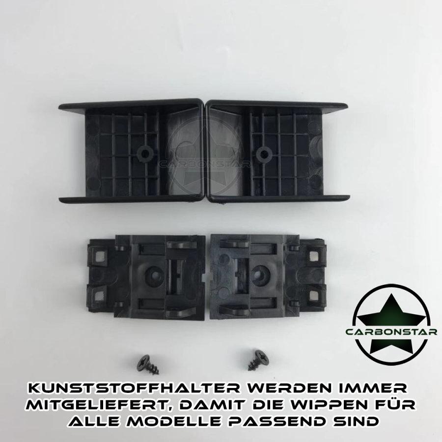 Cstar Schaltwippen Wippen Paddles Aluminium Alu Eloxiert Schwarz passend für BMW F82 F83 M4