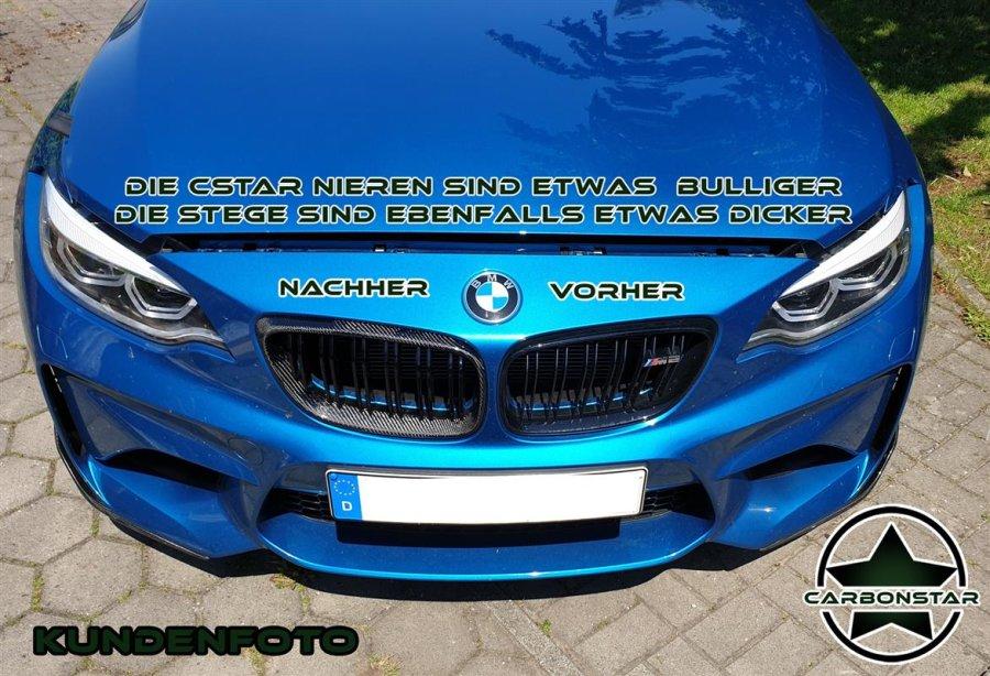 Cstar Carbon ABS Nieren Grill Doppelsteg passend für...
