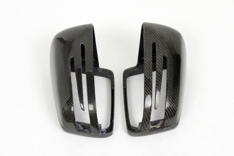 Cstar Carbon ABS Spiegelkappen für Mercedes Benz...