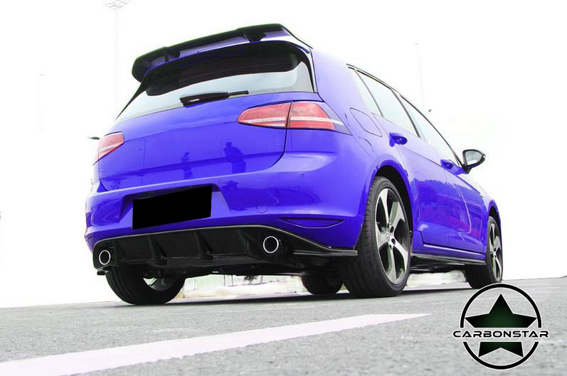 Cstar Diffusor Carbon Gfk passend für VW Golf 7 VII GTI