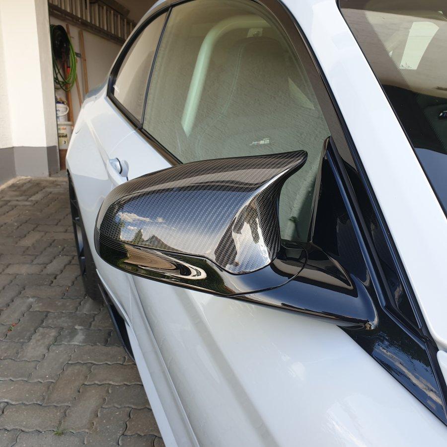 Cstar Carbon ABS Spiegelkappen Abdeckung passend für...