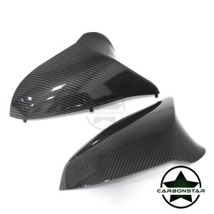 Cstar Carbon ABS Spiegelkappen Abdeckung passend für BMW F82 F83 M4 F80 M3 F87 M2 Competition