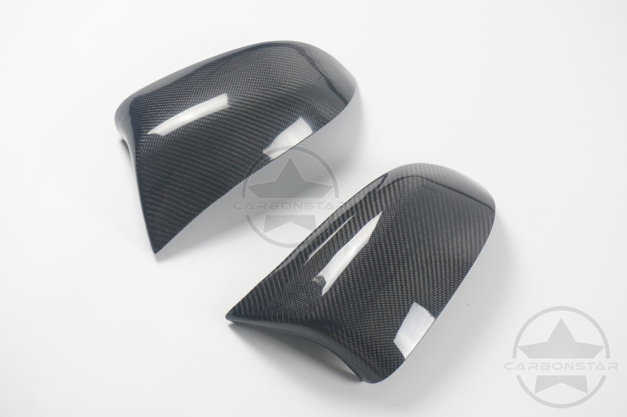 Cstar Spiegelkappen Außenspiegelkappen Carbon ABS Performance passend für BMW X5 F15 X6 F16