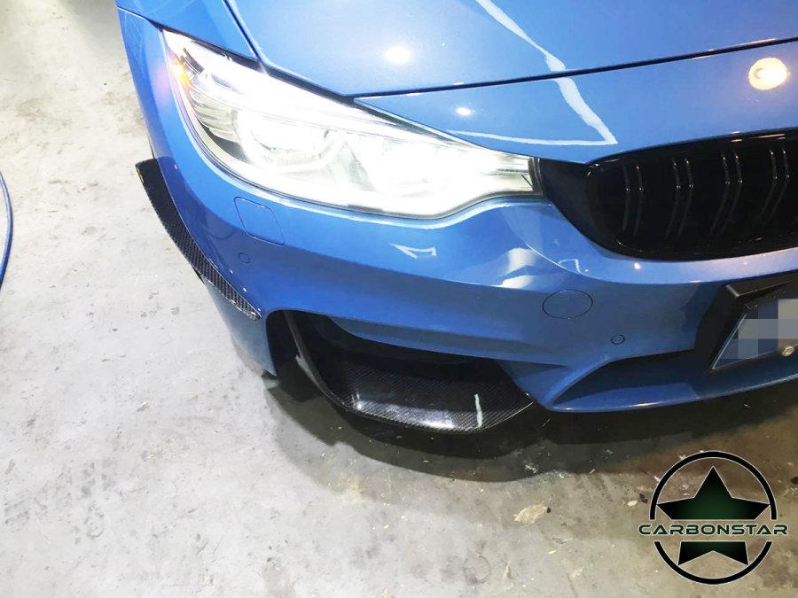 Cstar Carbon Canards Wings vorne passend für BMW F80...