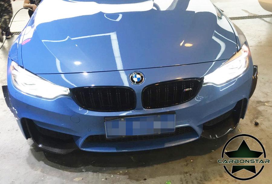 Cstar Carbon Canards Wings vorne passend für BMW F80 M3 F82 F83 M4