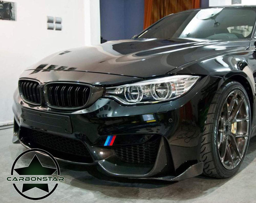 Cstar Carbon Gfk Frontlippe Wings passend für BMW F80 M3...