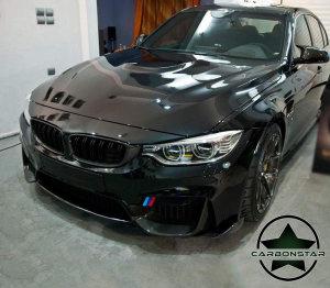 Cstar Carbon Gfk Frontlippe Wings passend für BMW F80 M3 F82 F83 M4