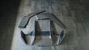 Cstar Carbon Gfk Heckdiffusor Ex Style passend für F06 F12 F13 mit M-Paket +M6