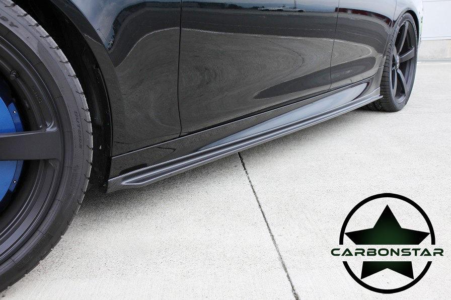 Cstar Carbon Gfk Seitenschweller 3D passend für BMW F10 M5