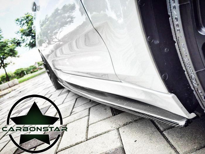 Cstar Carbon Gfk Performance Seitenschweller passend...