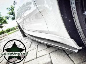 Cstar Carbon Gfk Performance Seitenschweller passend für BMW F34 Gran Turismo