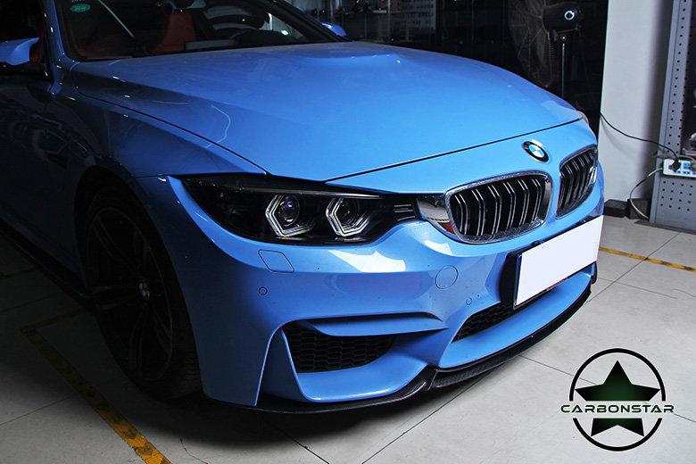 Cstar Carbon Gfk Frontlippe V3 passend für BMW F82 F83 M4 M3 F80