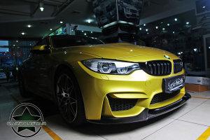 Cstar Carbon Gfk Frontlippe Varis Style passend für BMW F82 F83 M4 M3 F80