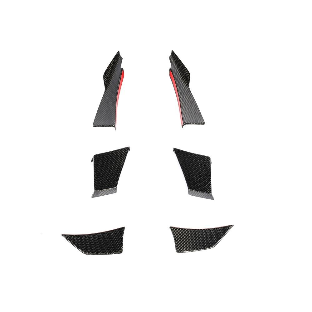 Cstar Carbon Gfk Canards Air Knife 6tlg. passend für BMW F80 M3 F82 F83 M4