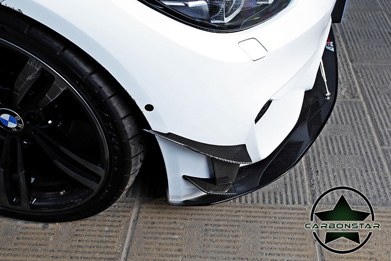 Cstar Carbon Gfk Canards Air Knife 6tlg. passend für BMW F80 M3 F82 F83 M4