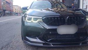 Cstar Carbon Gfk Frontlippe 3D passend für BMW F90 M5