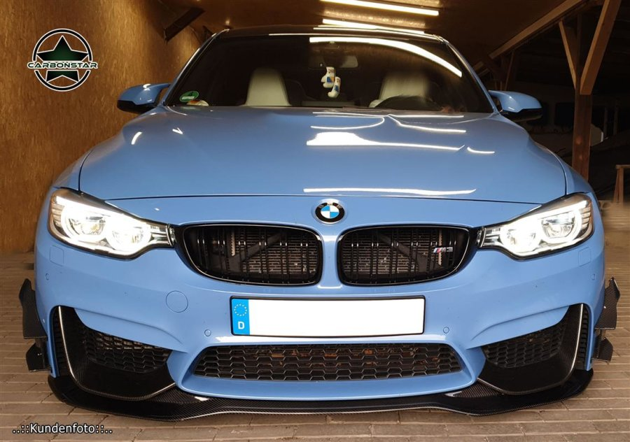Cstar Carbon Flaps Splitter Performance passend für BMW F82 F83 M4 F80 M3