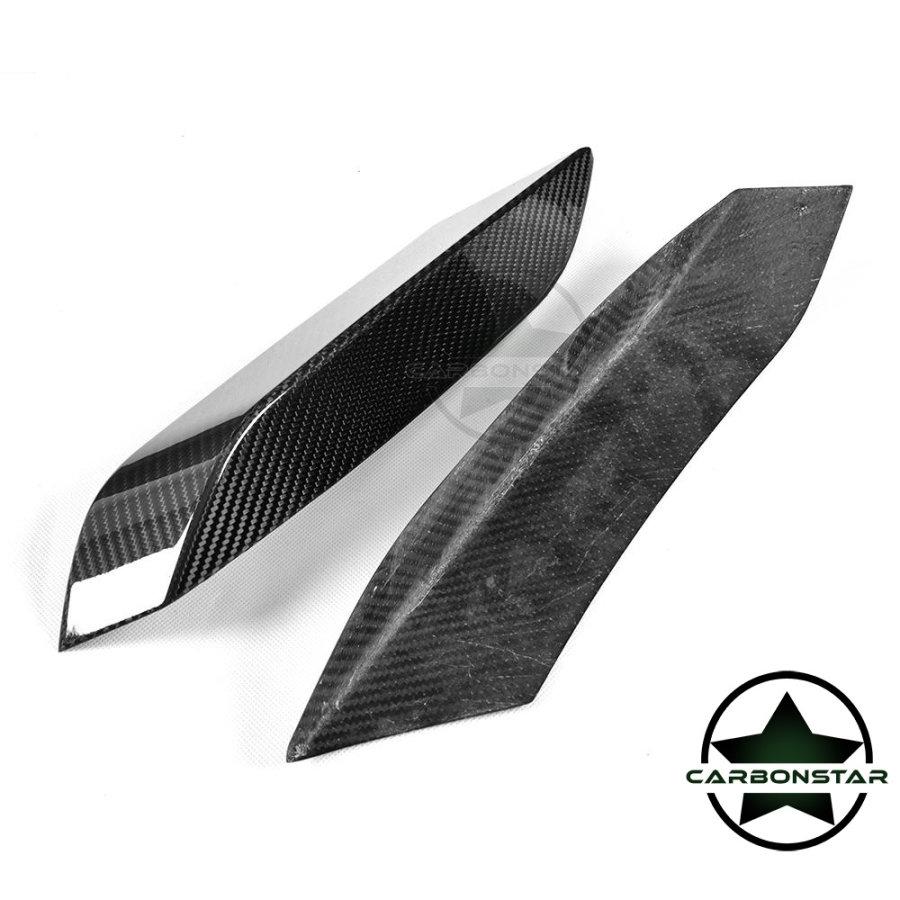 Cstar Carbon gfk Flaps Splitter Einsätze Vorne passend für BMW F82 F83 M4 M3 F80