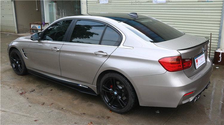 Cstar Carbon Gfk Seitenschweller Wing Style passend für BMW F10 M-Paket + M5