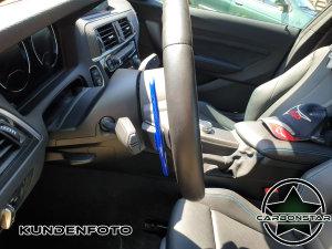 Cstar Schaltwippen Wippen Paddles Carbon Alu Blau passend für BMW F20 F21