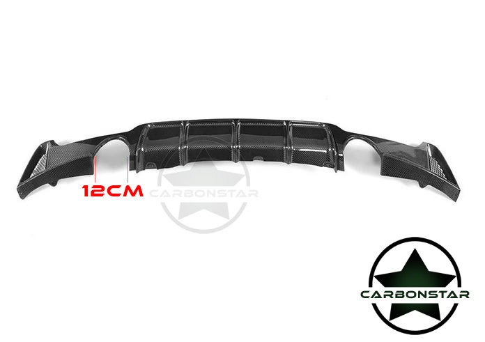 Cstar Carbon Gfk Heckdiffusor Diffusor 0==0 passend für BMW F32 F33 F36 435i 435d 440i
