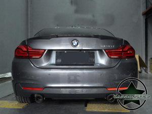 Cstar Heckspoiler Carbon Gfk V Style passend für BMW F32