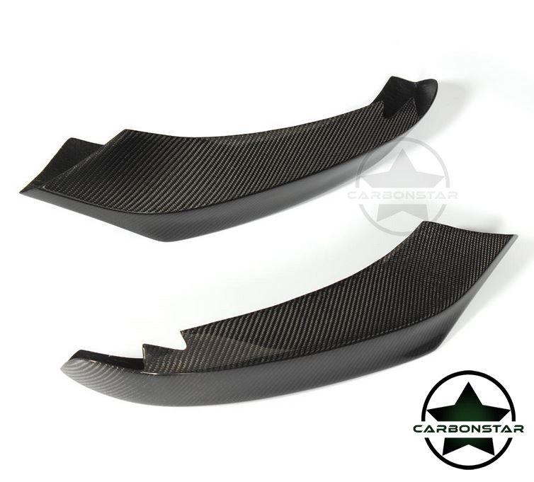 Cstar Carbon Gfk Splitter Flaps passend für BMW F32 F33 F36 M Paket