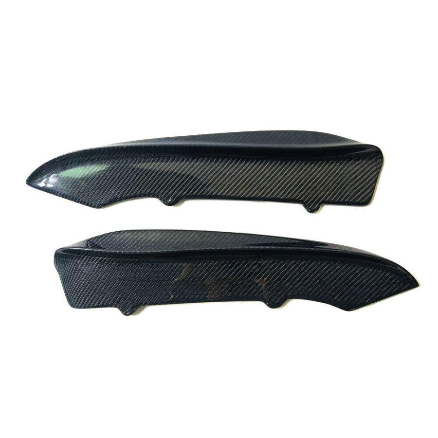 Cstar Carbon gfk Canards Seitenschweller Erweiterungen Stoßstange hinten passend für BMW E90 E92 E93 M3
