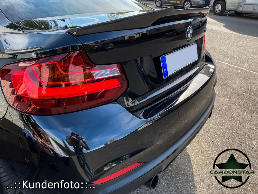 Cstar Carbon Gfk Heckspoiler V Style passend für BMW F22 F87 M2 M4