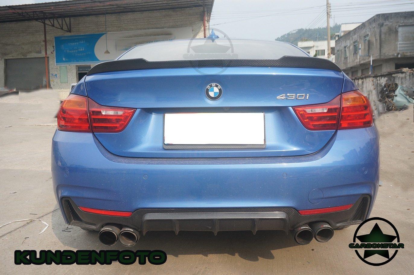 Cstar Heckspoiler Carbon Gfk CS passend für BMW F36