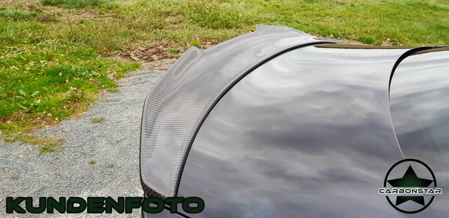 Cstar Heckspoiler Carbon Gfk PSM Big V Style passend...