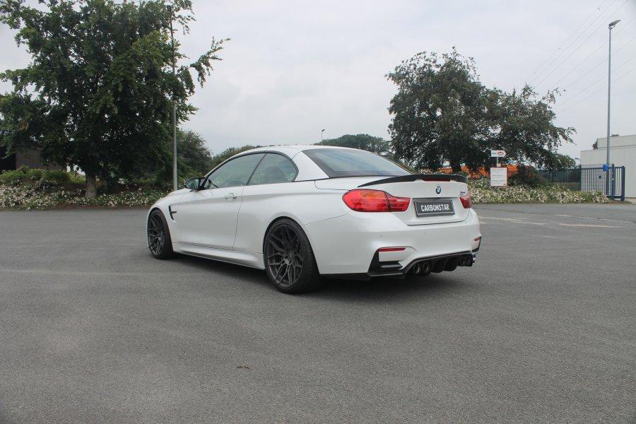 Cstar Carbon Gfk Heckspoiler V Style 3.0 passend für BMW F83 M4 F33