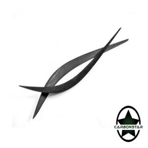 Cstar Scheinwerferblenden Scheinwerfer Cover  Carbon für Alfa Romeo Giulia Quadrifoglio