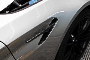 Cstar Carbon ABS Kotflügel Abdeckung Kiemen passend für BMW F90