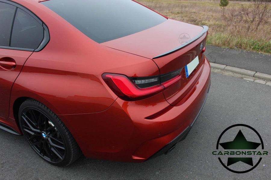 Cstar Carbon Gfk Heckspoiler Schmale Lippe Slim passend für BMW G20 G80 M3