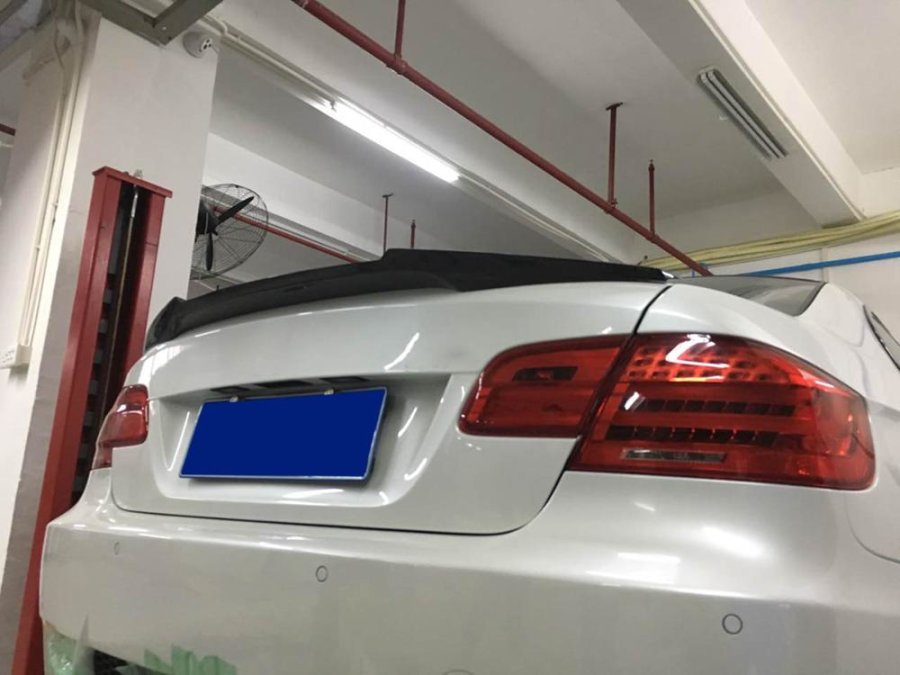 Cstar Heckspoiler Carbon Gfk V Style passend für BMW...