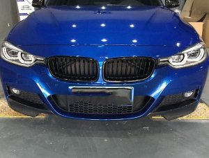 Cstar Carbon Gfk Flaps Splitter passend für BMW F30 F31 +LCI + M Paket