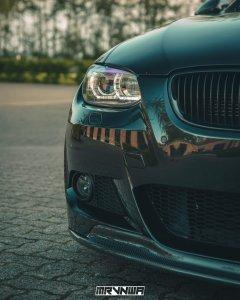 Cstar Scheinwerfer ohne AFS Kurvenlicht Schwarz passend für BMW E90 E92 E93 VFL + M3 + TÜV
