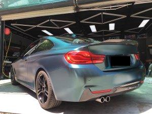 Cstar Heckspoiler Carbon Gfk PSM Big Style 2 Ducktail  passend für BMW F32