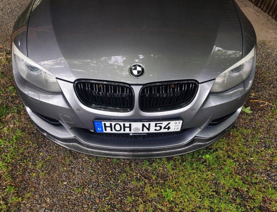 Cstar Frontlippe Carbon Gfk passend für BMW E92 E93...