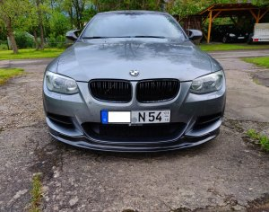 Cstar Frontlippe Carbon Gfk passend für BMW E92 E93 LCI Facelift M Paket