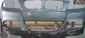 Cstar Frontlippe Carbon Gfk passend für BMW E90 E91 LCI Facelift M Paket