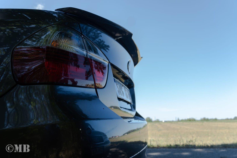 Cstar Heckspoiler Carbon Gfk V Style passend für BMW E90 + M3