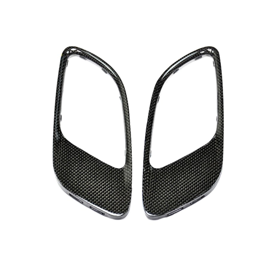 Cstar Carbon Gfk Motorhaube Abdeckung Inlays Lufteinlässe passend für BMW E90 E92 E93 M3