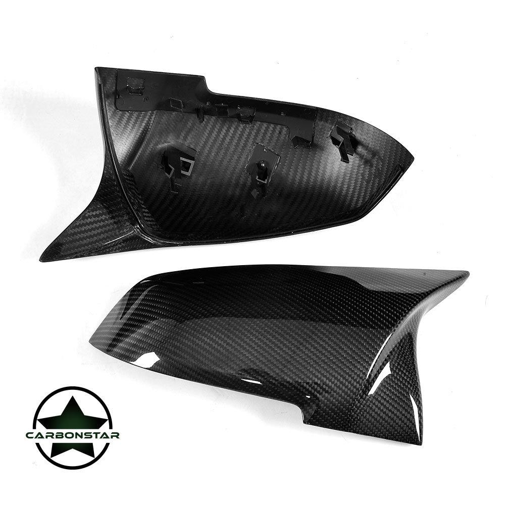 Cstar Dry Carbon Spiegelkappen V2.0 passend für BMW F20 F21 F22 F23 M2 F87 F30 F31 F34 F32 F33 F36 E84
