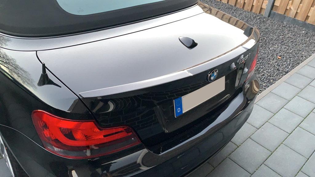 Cstar Carbon Gfk Heckspoiler V Style passend für BMW E82 + 1M M4 Typ
